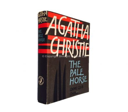 The Pale Horse Publisher's Proof Copy by Agatha Christie Collins 1961